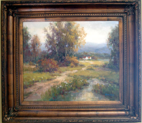 English Landscape 1 by Barnes