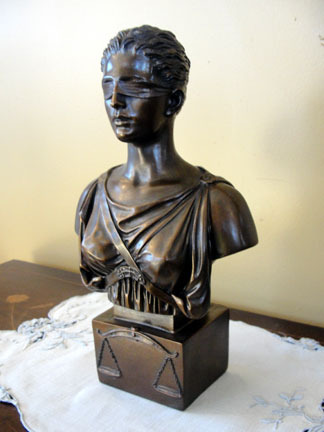 Bust of Lady Justice by Eylanbekov