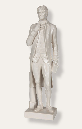 Standing Jefferson Sculpture