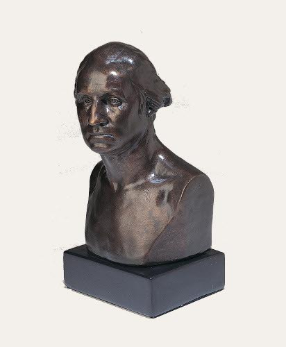 George Washington - Houdon Bust 11""