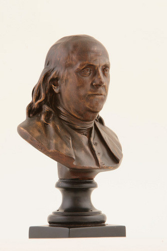 Benjamin Franklin - Houdon Bust on a Pedestal