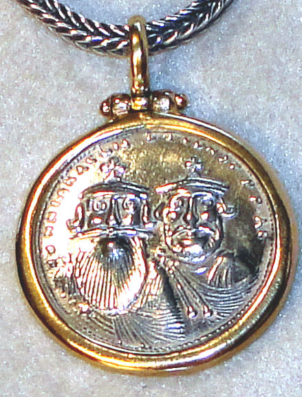 Coin Replica Pendant by Konstantino