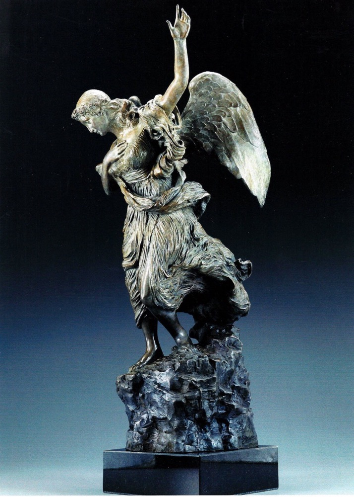 Sistino Angel Bronze Sculpture by Morgan Spencer