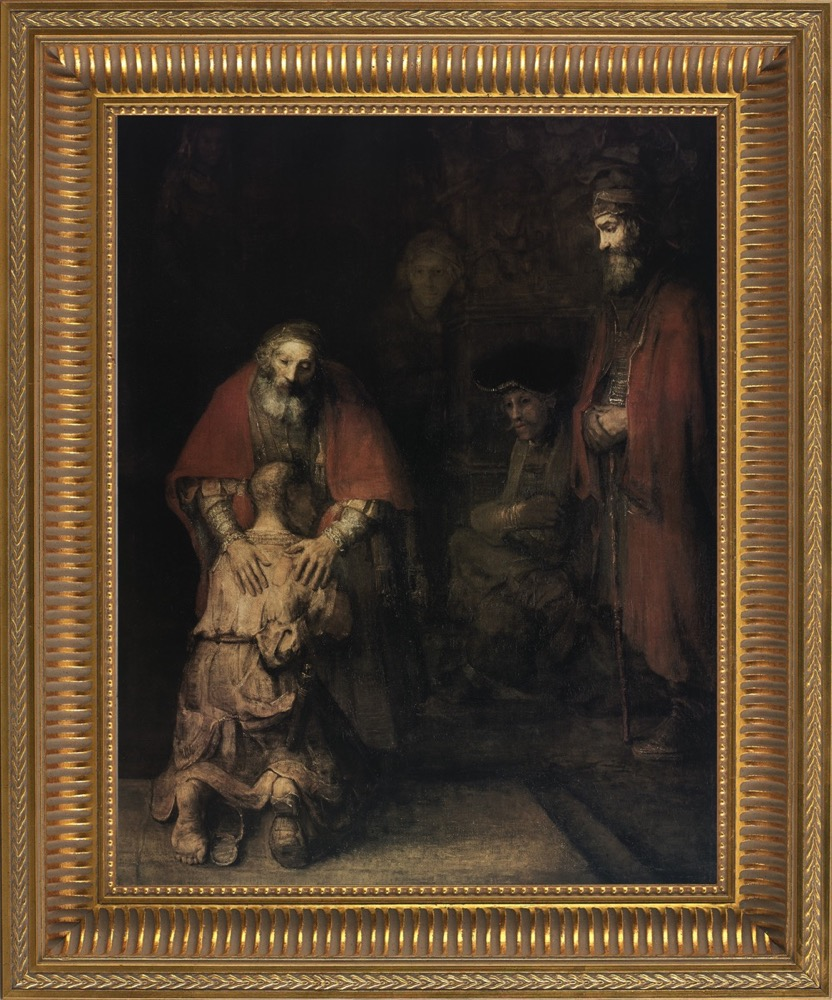 Return of the Prodigal Son by Rembrandt